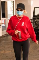 SOFIA RICHIE Out and About in Beverly Hills 10/27/2020