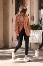 SOFIA RICHIE Out for Lunch in Beverly Hills 10/28/2020