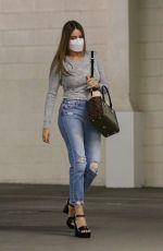 SOFIA VERGARA in Ripped Denim Heading to a Meeting in Beverly Hills 10/26/2020