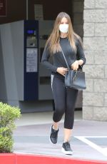 SOFIA VERGARA in Tights Out and About in Los Angeles 10/22/2020