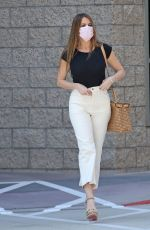 SOFIA VERGARA Out and About in Los Angeles 10/01/2020