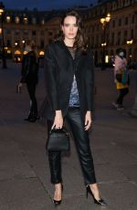 STACY MARTIN Arrives at Louis Vuitton Dinner Party in Paris 09/28/2020