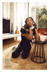 STORM REID in Iinstyle Magazine, November 2020