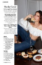 TARA SUTARIA in Cosmopolitan Magazine, India September 2020