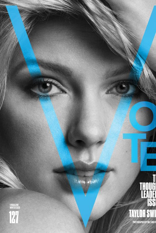 TAYLOR SWIFT for V Magazine, The Thought Leaders Issue, 2020