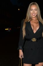 TYNE-LEXY CLARSON Out for Dinner at Sexy Fish in London 10/24/2020