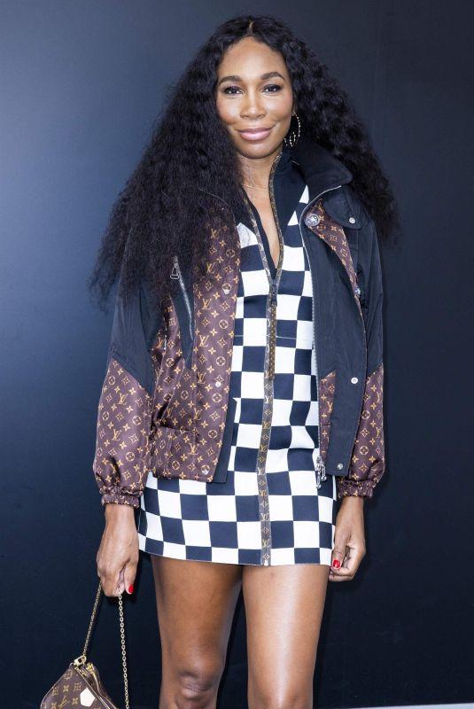VENUS WILLIAMS at Spring/Summer 2021 Louis Vuitton Fashion Show in Paris 10/06/2020