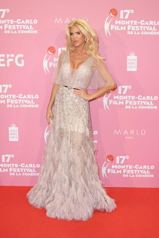 VICTORIA SILVSTEDT at 2020 Monte-carlo Film Festival de la Comedie in Monaco 10/11/2020