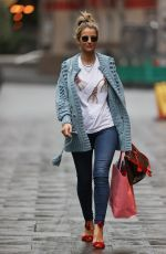 VOGUE WILLIAMS Arrives at Heart Radio in London 10/17/2020