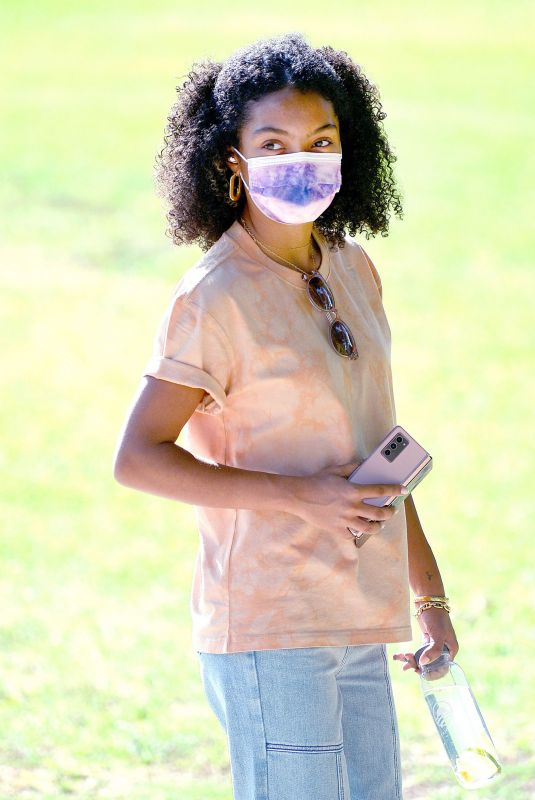 YARA SHAHIDI Out and About in Pasadena 10/18/2020