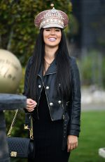 YAZMIN OUKHELLOU on the Set of The Only Way is Essex at Chlochella Festival in Essex 10/06/2020