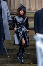ZOE KRAVITZ on the Set of The Batman in Liverpool 10/12/2020