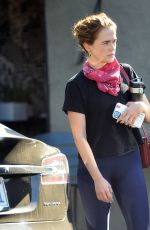 ZOEY DEUTCH Leaves a Gym in West Hollywood 10/19/2020