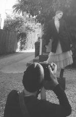 ABIGAIL COWEN - Black and White Photoshoot, 2020