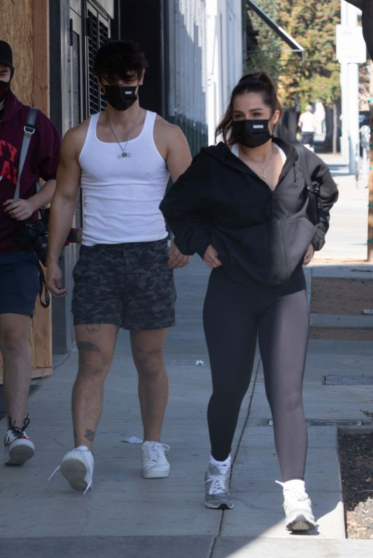 ADDISON RAE and Bruce Hall Out in West Hollywood 11/22/2020