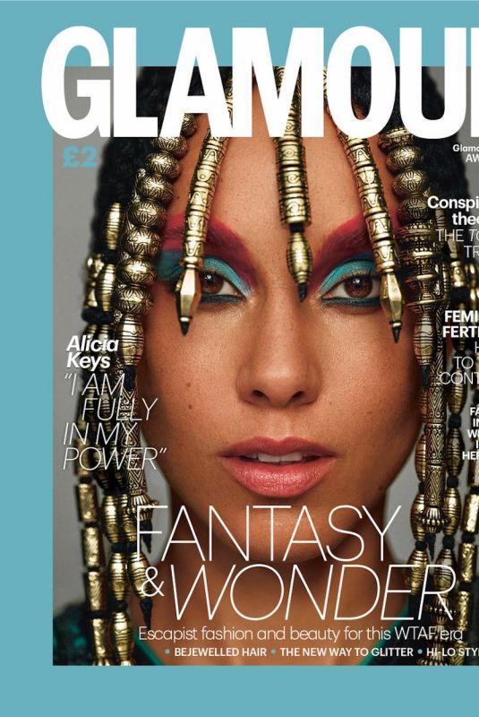 ALICIA KEYS for Glamour Magazine, UK Autumn/Winter 2020
