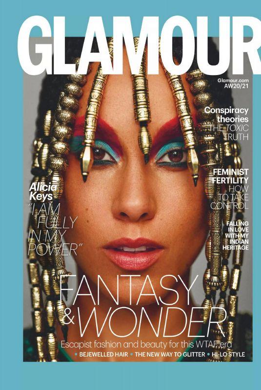 ALICIA KEYS in Glamour Magazine, UK Autumn 2020/Winter 2021