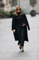 AMANDA HOLDEN Arrives at Heart Radio in London 11/16/2020
