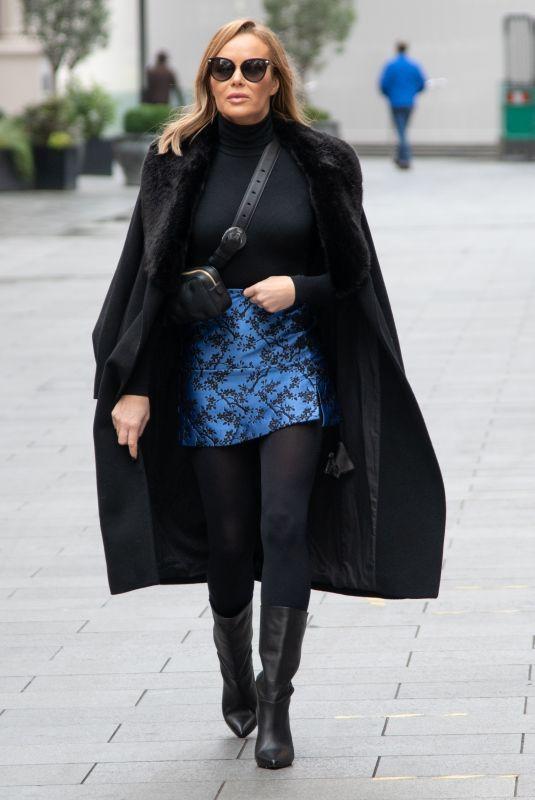 AMANDA HOLDEN Arrives at Heart Studios in London 11/24/2020