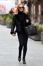 AMANDA HOLDEN Leaves Heart FM in London 11/20/2020