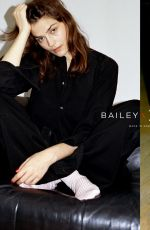 AMBER ANDERSON for Bailey x Budd London Campaign 2020