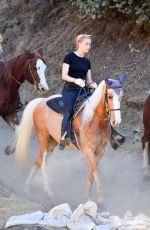 AMBER HEARD Out on Horseback Ride in Los Angeles 11/28/2020