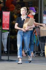 AMBER HEARD Out Shopping in Los Angeles 10/31/2020