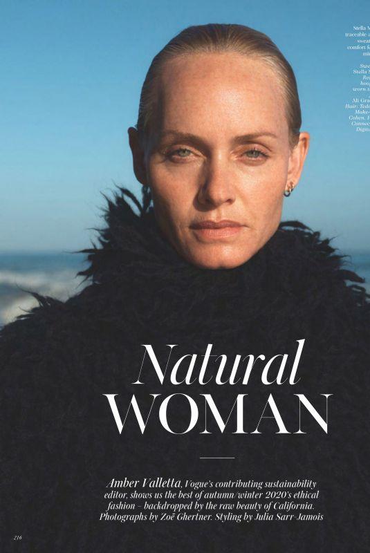 AMBER VALLETTA in Vogue Magazine, November 2020