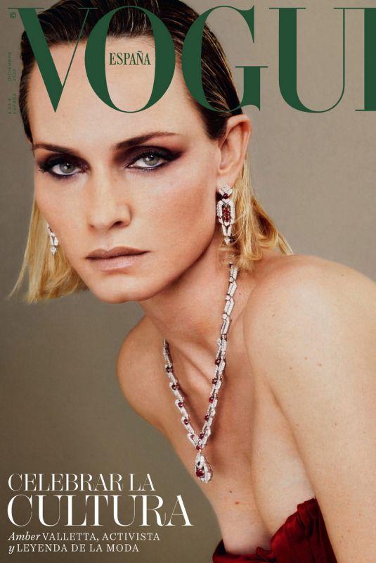 AMBER VALLETTA in Vogue Magazine, Spain December 2020