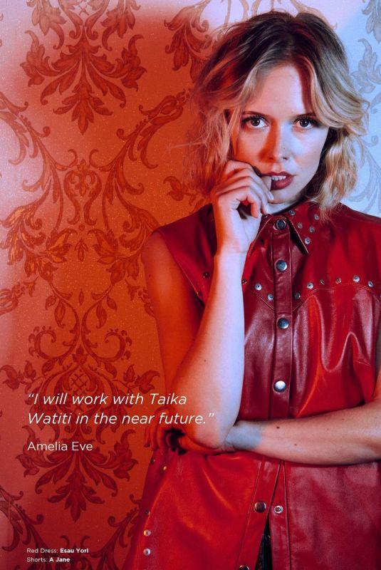 AMELIA EVE in Cool America Magazine, 2020