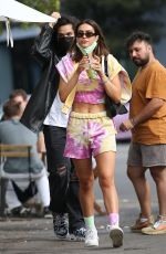 AMELIA HAMLIN Out in West Hollywood 10/31/2020