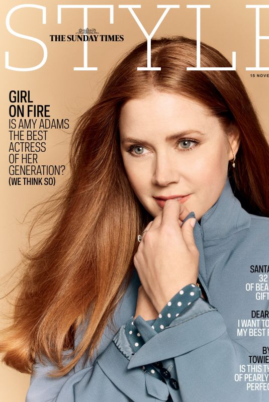AMY ADAMS in The Sunday Times Style Magazine, November 2020