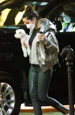 ANA DE ARMAS Out with Her Dog in New Orleans 11/20/2020