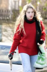 ANAIS GALLAGHER Out in London 11/19/2020