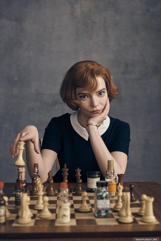 ANYA TAYLOR-JOY – The Queen's Gambit Promos, 2020