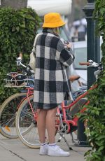ARIELLE VANDENBERG Out for a Bike Ride in Los Angeles 11/02/2020