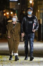 ASHLEY BENSON and G-Eazy Out in New York 11/16/2020