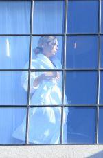 ASHLEY BENSON in Her Hotel in New York 11/24/2020