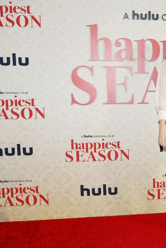 AUBREY PLAZA at Happiest Season Drive-In Premiere in Los Angeles 11/17/2020