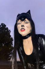 AVA MAX in Catsuit - Instagram Photos 11/03/2020