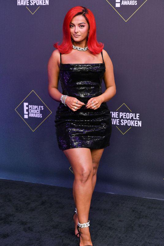 BEBE REXHA at 2020 People's Choice Awards in Santa Monica 11/15/2020