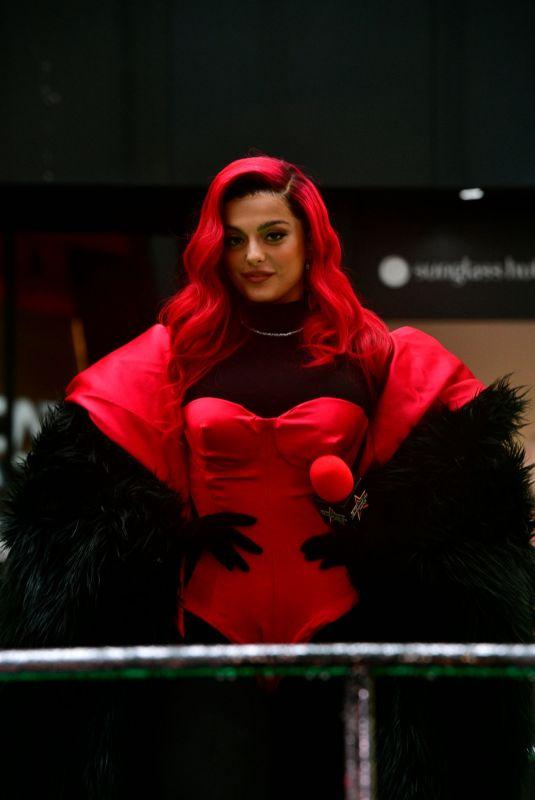 BEBE REXHA at Macy's Thanksgiving Day Parade in New York 11/26/2020