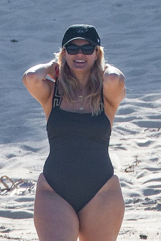 BEBE REXHA in Swimsuit at a Beach in Cabo San Lucas 11/02/2020