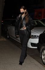 BELLA HADID Night Out in New York 11/19/2020