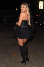 BELLE HASSAN at a Halloween Party at Proud Embankment in London 10/31/2020