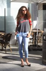 BLANCA BLANCO in Denim Out in Beverly Hills 11/17/2020