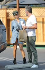BROOKE BURKE Out Shopping in Los Angeles 10/08/2020