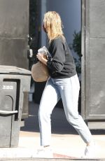 CAMERON DIAZ Leaves a Hair Salon in Los Angeles 11/02/2020