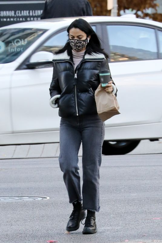 CAMILA MENDES Out for a Coffee in Vancouver 11/08/2020