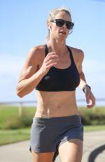 CANDICE WARNER Out Jogging in Sydney 11/25/2020